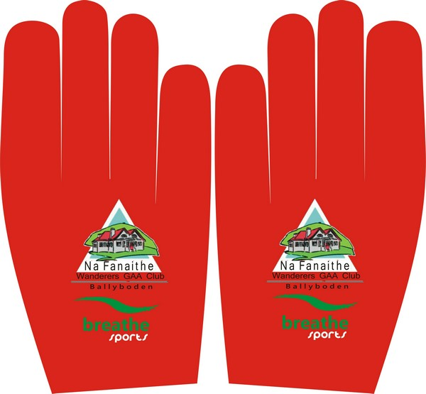 Club Crested Gaelic Gloves